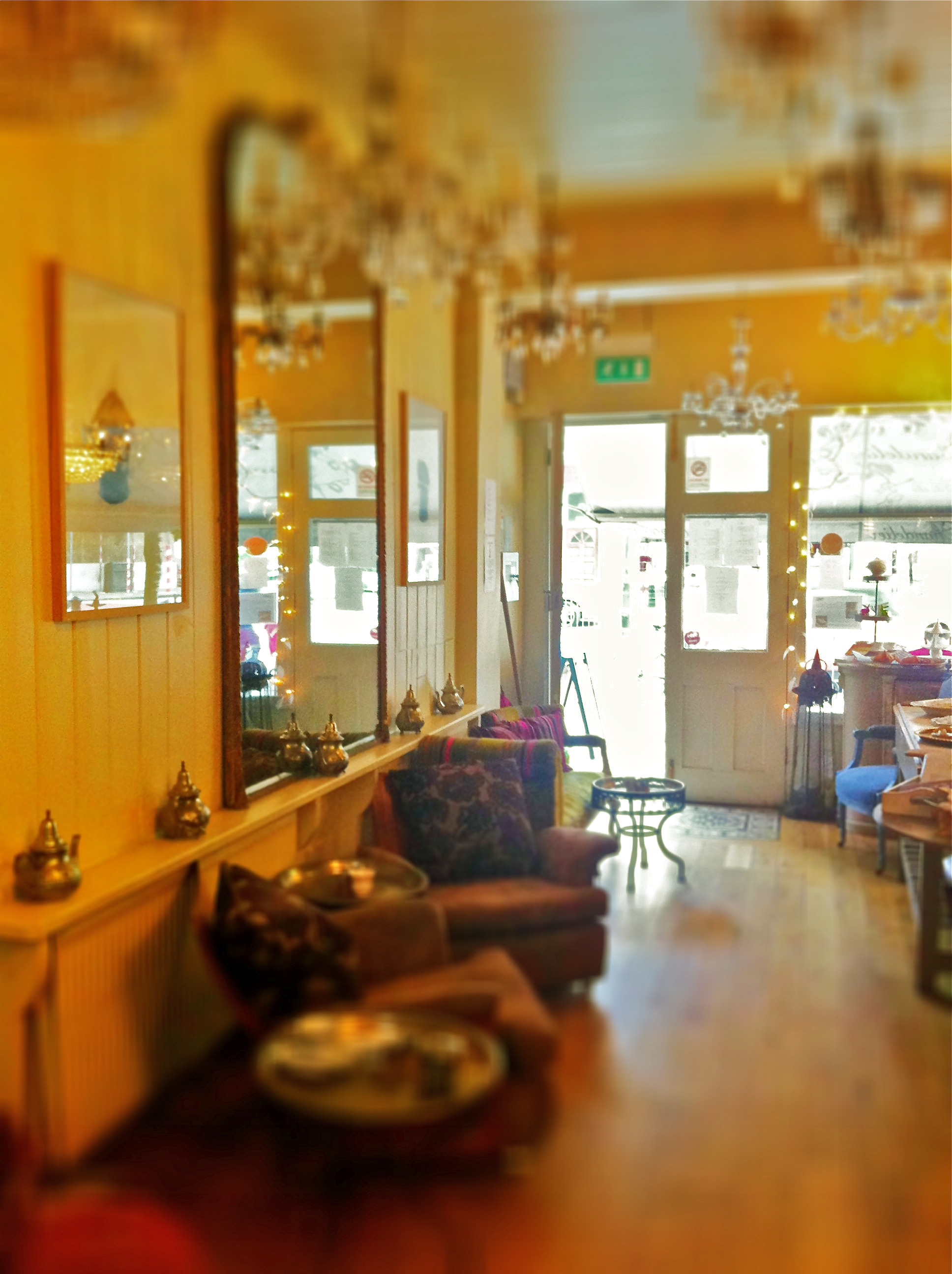 Le Chandelier Tea Shop, Dulwich, London