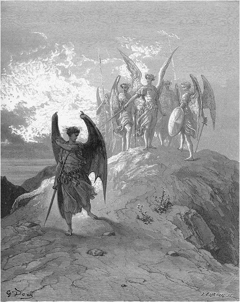 Revolt of satan in paradise lost