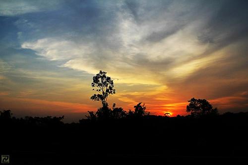 sunset malaysia 550d