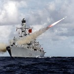 HMS Iron Duke Fires Harpoon