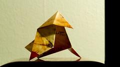 art, art paper, origami, yellow, triangle, paper, origami paper,