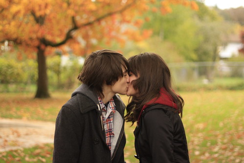 LE LOVE BLOG LOVE STORY LOVE ADVICE LOVE PIC LOVE PHOTO KISSING COUPLE KISS MAKING OUT FALL ORANGE LEAVES FOLIAGE Untitled by zack henningsgaard  on Flickr