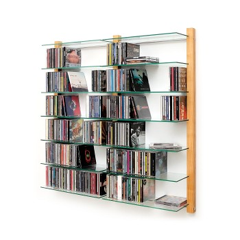 cd rack storay walnut tree cd regal nussbaum flickr. Black Bedroom Furniture Sets. Home Design Ideas
