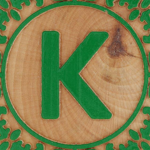 Block Letter K | Flickr - Photo Sharing!