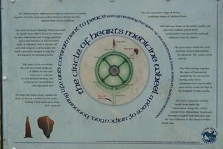 Cartel del Medicine Wheel Willen Lake de Milton Keynes, más que un lago ... un estilo de vida - 5128968800 c87b90679a n - Willen Lake de Milton Keynes, más que un lago … un estilo de vida
