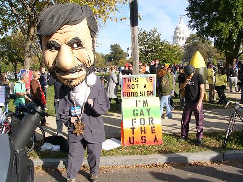 Rally To Restore Sanity Ahmadinejad