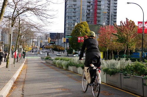 Dunsmuir Separated Bike Lanes 84