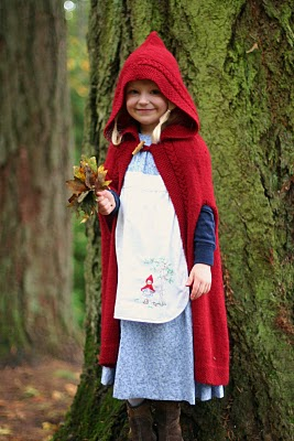"""My girls as Little Red Riding Hood, each with a """"wolf!"""" Handmade costume handed down. 5142946534_a6feb55c53_o"""