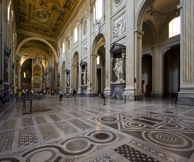 Inside St John Lateran by Lawrence OP, on Flickr