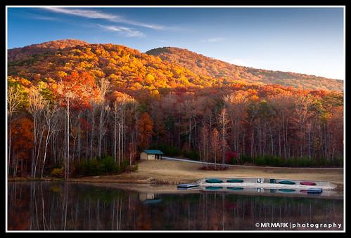 morning autumn camp sun lake mountains color fall beach ga kayak adams forrest g cleveland hills national retreat kayaks 2010 chattahoochee stonecreek strongrock stonecreekmensretreat