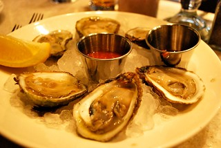 Raw oysters - Oyster House