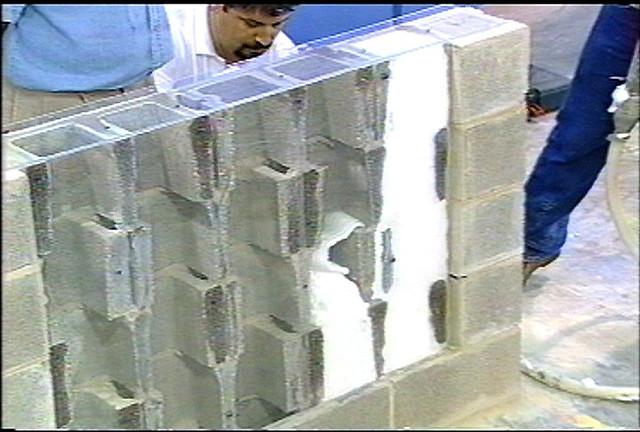 Core Foam Masonry Foam Insulation Application Flickr Photo Sharing