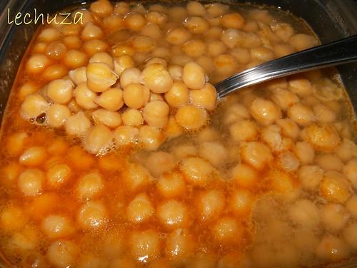 La cocina de lechuza recetas de cocina con fotos paso a - Preparacion de garbanzos cocidos ...