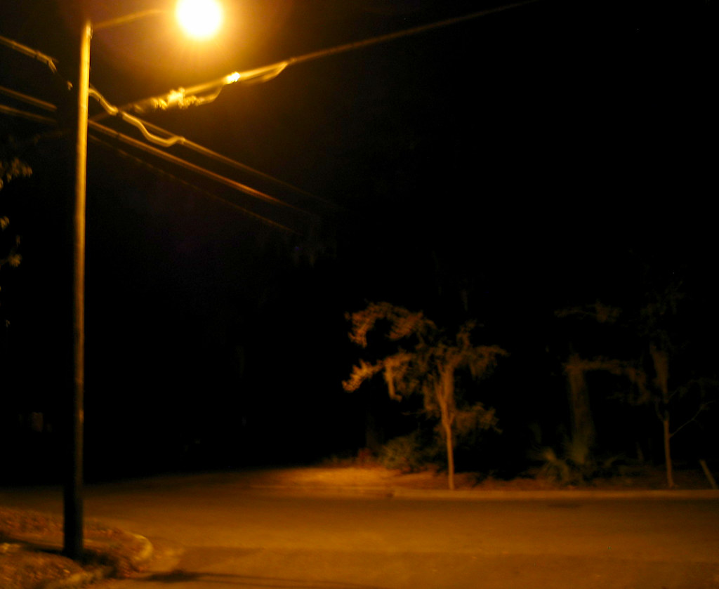 Night Street Light Pole Road Tree | Flickr - Photo Sharing!