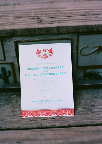 Our Hello Lucky Wedding Invitations