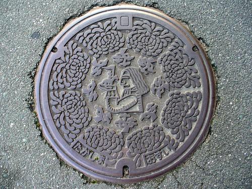 Takashima Shiga manhole cover(滋賀県高島町のマンホール)