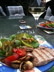 BBQ Tuna & Salad