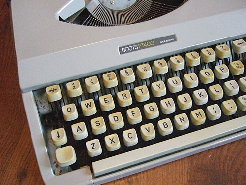 Goodbye typewriter!