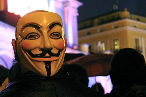 Anonymous en la operación Goya