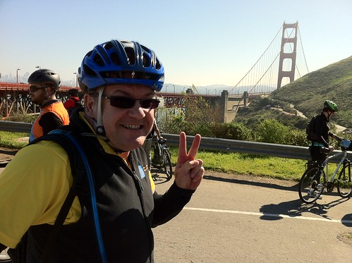 Riding back from Tiburon