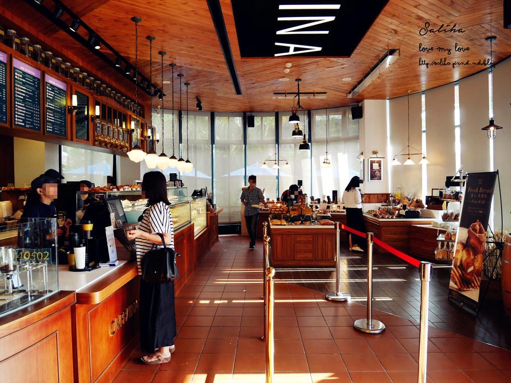 台中西屯區下午茶推薦卡啡那惠來店 咖啡廳念書聚會看書 (1)