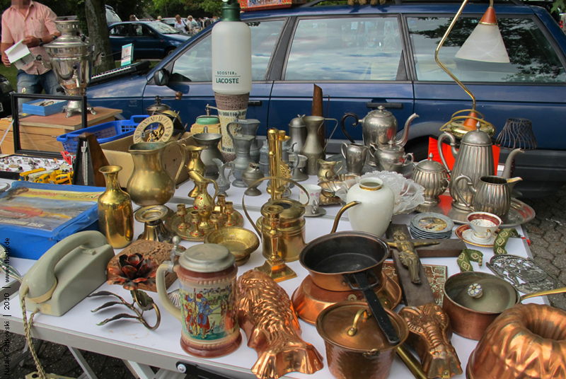 Flea market in Bochum, Germany