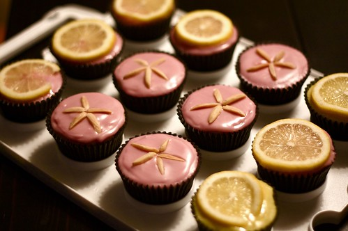 Treats to go, vegan cupcakes