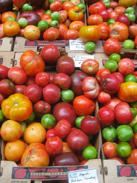 san francisco ferry building heirloom tomatoes
