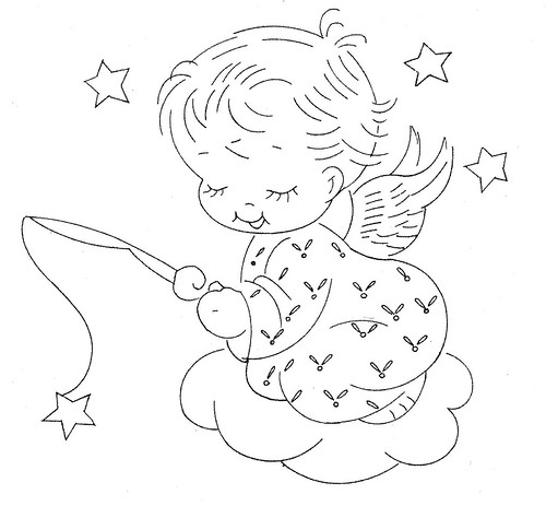 Design 7412 Angel Fishing