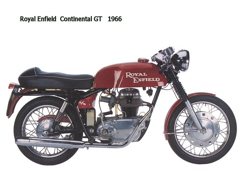 Royal Enfield Continental GT 1966