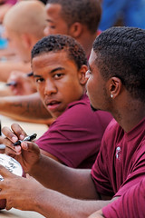 University of Montana Football Players at Autographing Session
