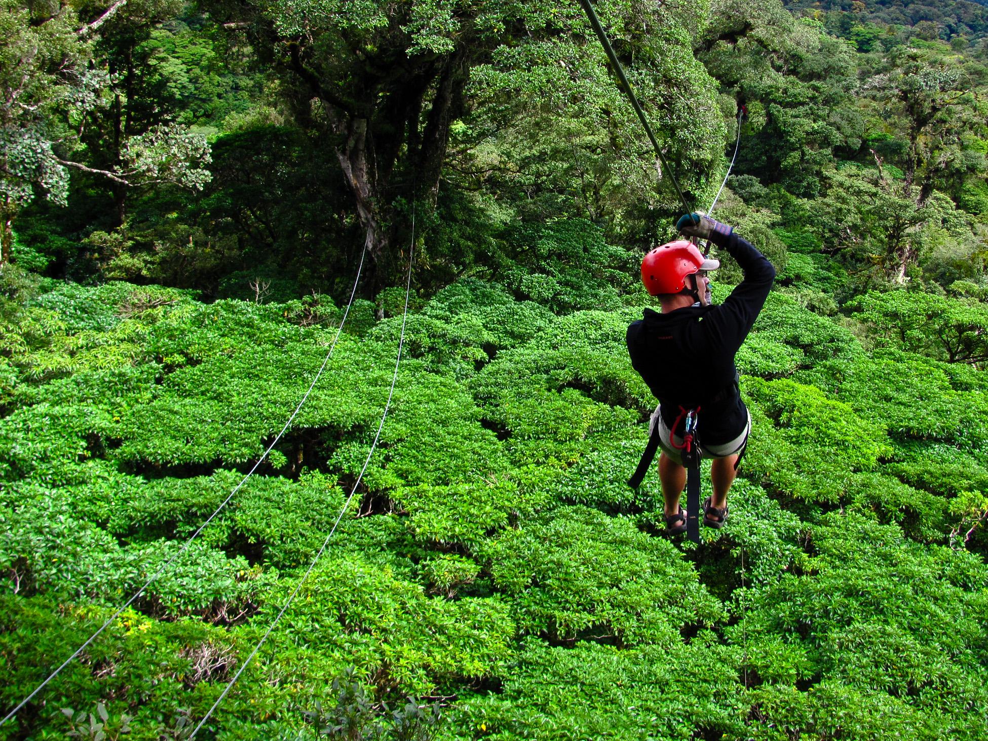 Monteverde 15 - Zipline canopy tour