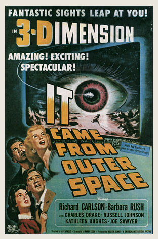 It Came From Outer Space (Poster)