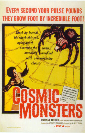 Cosmic Monsters (Poster)