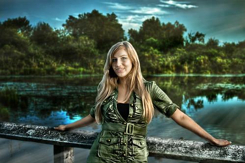 Ashley at Whitefish Island