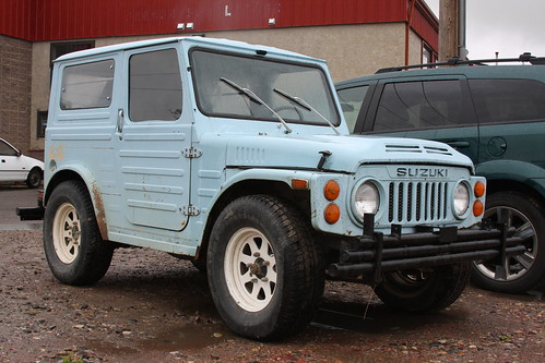 Find of week 1980 suzuki jimny lj80 old car junkie - Craigslist mississippi farm and garden ...