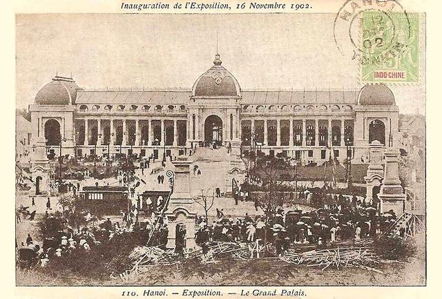 Hanoi - Inauguration de l'Exposition, 16 Novembre 1902