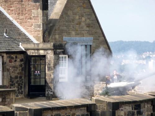 One O'Clock Gun, Edinburgh Castle, Scotland