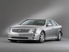 model car(1.0), automobile(1.0), automotive exterior(1.0), executive car(1.0), cadillac sts-v(1.0), cadillac(1.0), wheel(1.0), vehicle(1.0), automotive design(1.0), cadillac sts(1.0), cadillac cts(1.0), bumper(1.0), sedan(1.0), land vehicle(1.0), luxury vehicle(1.0),