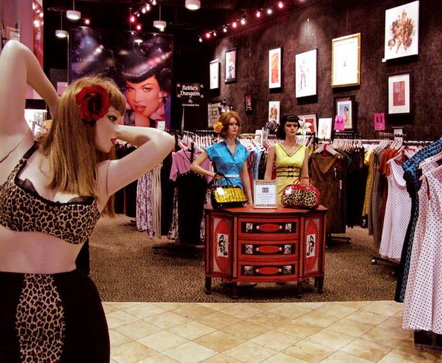 bettie page retro clothing store in las vegas i had no