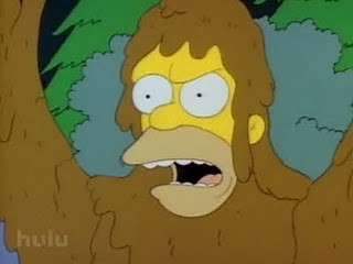 Simpsons Bigfoot