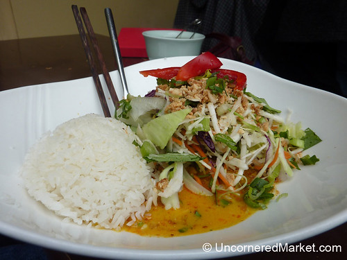 Red Curry at a Vietnamese Restaurant in Kreuzberg, Germany