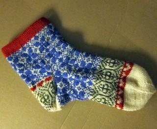 Delfter Blau socks