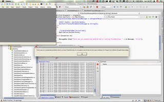 Flash Develop on OSX - Screenshot