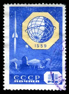 Russia stamp: Luna 2