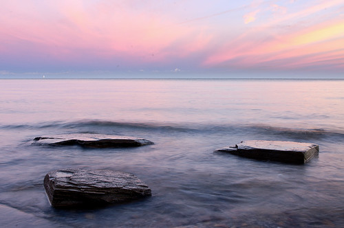 pink lake beach water sunrise rocks waves lakeerie pentax greatlakes dunkirk wny kx rawtherapee westerndoor