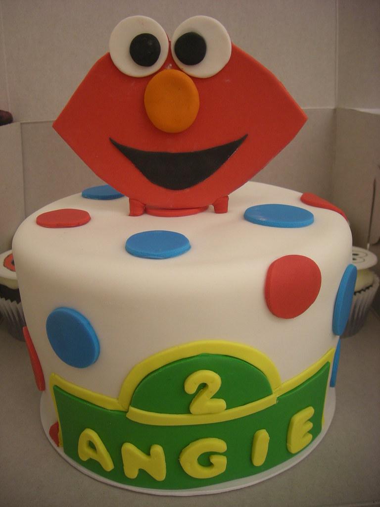 Elmo Birthday Cake 257
