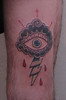 eye of the storm tattoo