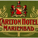 Repubblica Ceca - Marienbad - Carlton Hotel by Luggage Labels by b-effe
