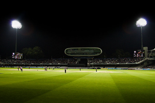 Floodlit Lord's